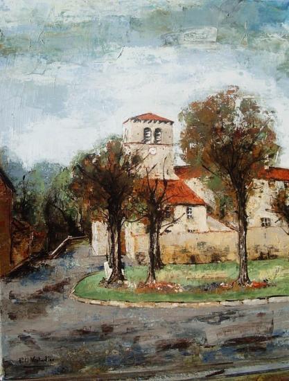 L'église de st Juin 55x46   318